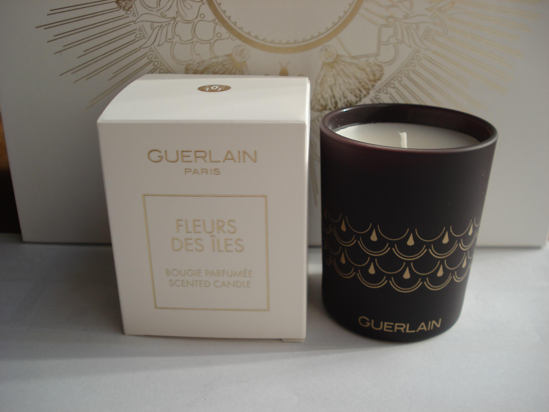 Nến thơm Guerlain Paris Fleurs Des Iles Bougie Parfume