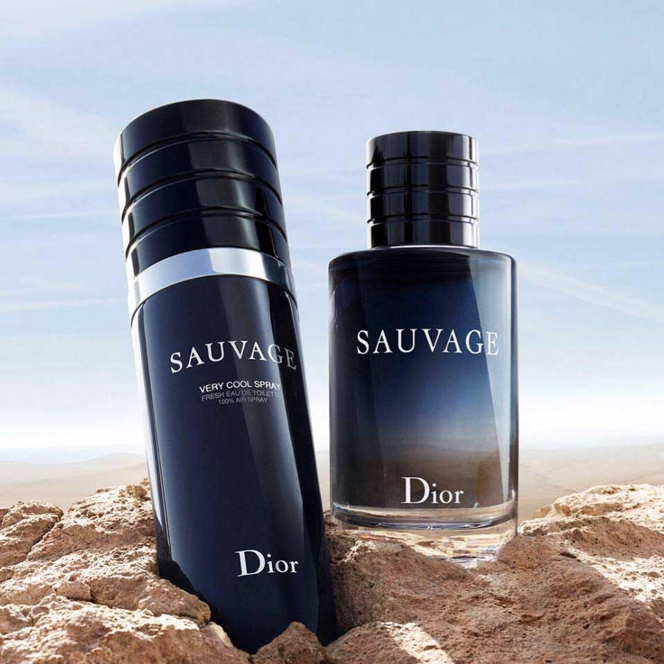 Image result for sauvage very cool spray