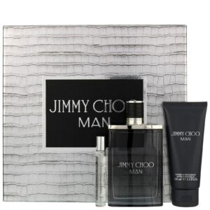 1202298 Jimmy Choo Man Eau De Toilette Spray 100ml Gift Set