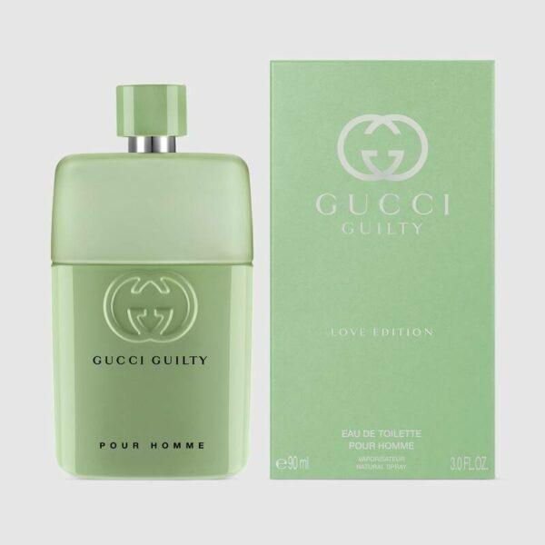 592412 99999 0099 002 100 0000 Light Gucci Guilty Love Edition Pour Homme 90ml Eau De Toilette